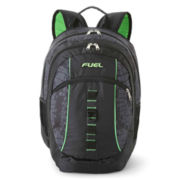 Fuel® Active Laptop Backpack-Black/Lime