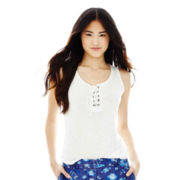 Joe Fresh™ Drawstring Tank Top