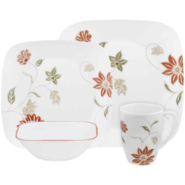 jcpenney.com | Corelle® Square™ 16-pc. Dinnerware Set