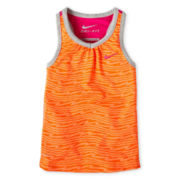 Nike® Dri-FIT Racerback Tank Top - Girls 4-6x