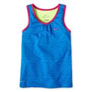 Nike® Dri-FIT Racerback Tank Top - Girls 4-6x