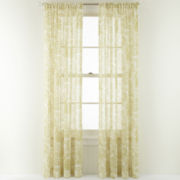 MarthaWindow™ Tuileries Rod-Pocket Sheer Panel