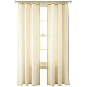 MarthaWindow™ Caldwell Border Ring-Top Curtain Panel