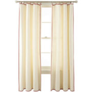 MarthaWindow™ Caldwell Border Ring-Top Curtain Panel