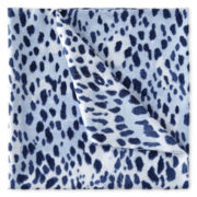 Home Expressions™ Microfiber Twin XL Leopard Sheet Set