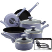 Farberware® New Traditions 12-pc. Speckled Nonstick Cookware Set