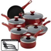 Farberware® New Traditions 14-pc. Speckled Nonstick Cookware Set