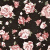 Black/pink Floral