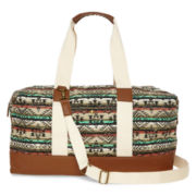 SM New York Weekender Tribal Print Tote