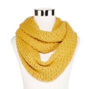 Olsenboye® Solid Basketweave Infinity Scarf