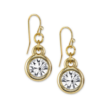 jcpenney.com | 1928® Jewelry Crystal Drop Gold-Tone Earrings