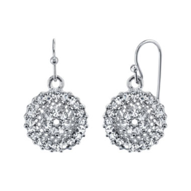 jcpenney.com | 1928® Jewelry Crystal Round Drop Earrings
