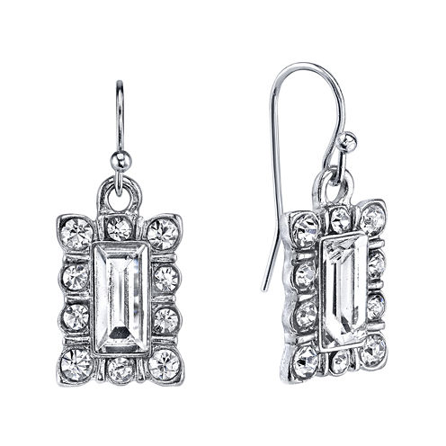 1928® Jewelry Crystal Drop Earrings
