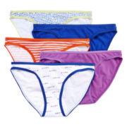 Flirtitude® 5-pk. Bikini Panties