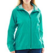 Columbia® Rain to Fame Waterproof Hooded Jacket - Plus