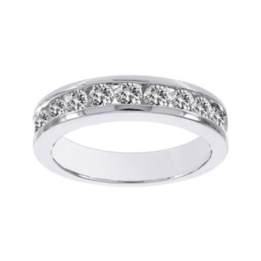jcpenney.com | Lumastar1 CT. T.W. Diamond 14K White Gold Semi-Eternity Ring