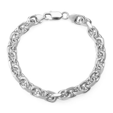 jcpenney.com | Sterling Silver Mens Oval Link Chain Bracelet