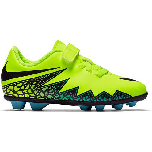 Nike® Jr. HyperVenom Phade II FG-R Cleats - Little Kids