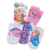 Ashko Team Shopkins 5-pk. Socks - Girls