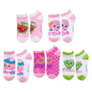 Ashko Shopkins 5-pk. Low Cut Socks - Girls