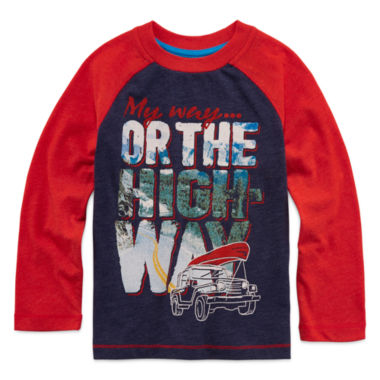 jcpenney.com | Arizona Long-Sleeve Graphic Tee - Toddler Boys 2t-5t
