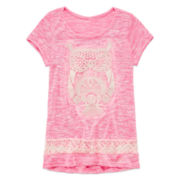 Miss Chevious Short-Sleeve Graphic Tee - Girls 7-16