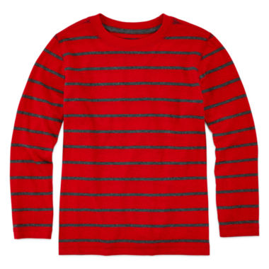 jcpenney.com | Arizona Long-Sleeve Stripe Tee - Preschool Boys 4-7