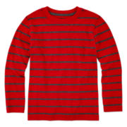 Arizona Long-Sleeve Stripe Tee - Preschool Boys 4-7