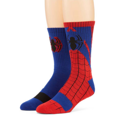 jcpenney.com | Marvel® Spider-Man 2-pk. Athletic Crew Socks