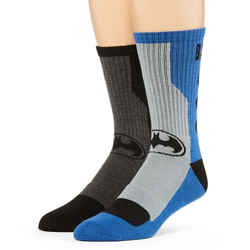 DC Comics® Batman 2-pk. Athletic Crew Socks