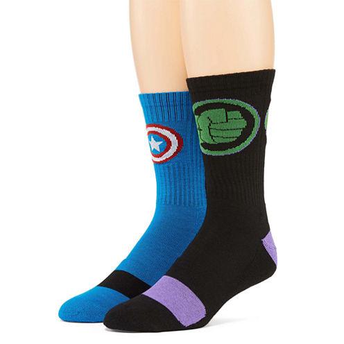 Marvel® Avengers 2-pk. Athletic Crew Socks