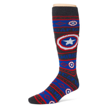 jcpenney.com | Marvel® Captain America Sweater Socks