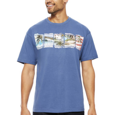 jcpenney.com | No Bad Days® Patriotic Palm Band Short-Sleeve Tee