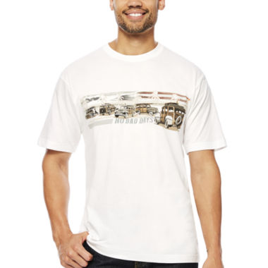 jcpenney.com | No Bad Days® Americana Woodie Short-Sleeve Tee