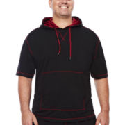 Brooklyn Xpress Short-Sleeve French Terry Hoodie - Big & Tall