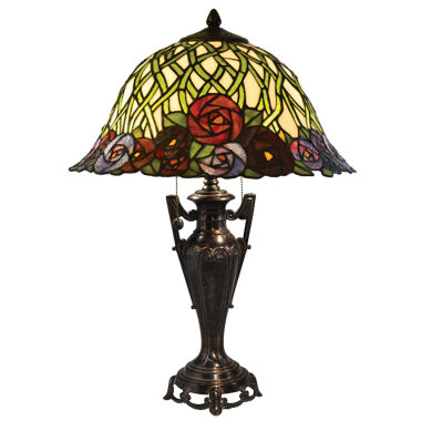 jcpenney.com | Dale Tiffany™ Misty Rose Tiffany Table Lamp