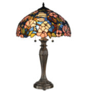 Dale Tiffany™ Floral Tiffany Table Lamp