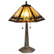 Dale Tiffany™ Ginger Diamond Table Lamp