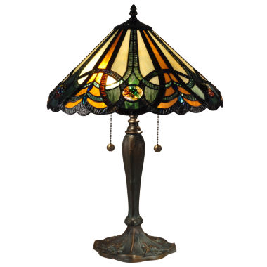 jcpenney.com | Dale Tiffany™ Sawyer Tiffany Lamp