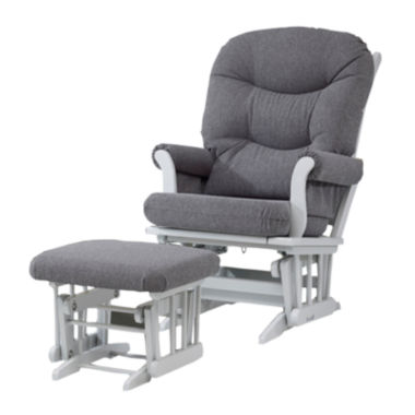 jcpenney.com | Dutailier® Sleigh Glider with Ottoman