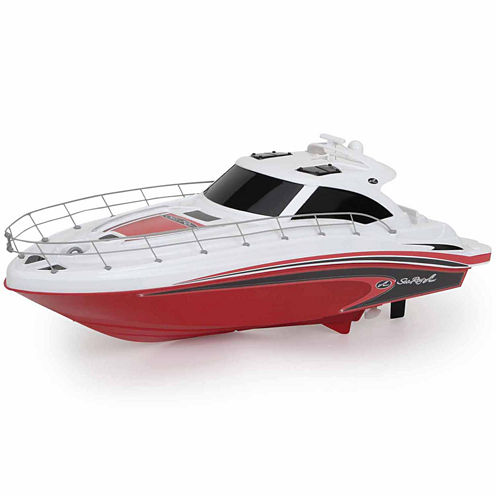 """18"""" Sea Ray R/C FF Boat Red"""""""