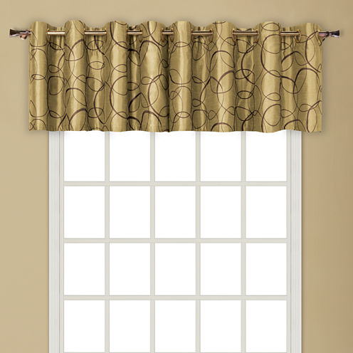 Sinclair Grommet-Top Tailored Valance