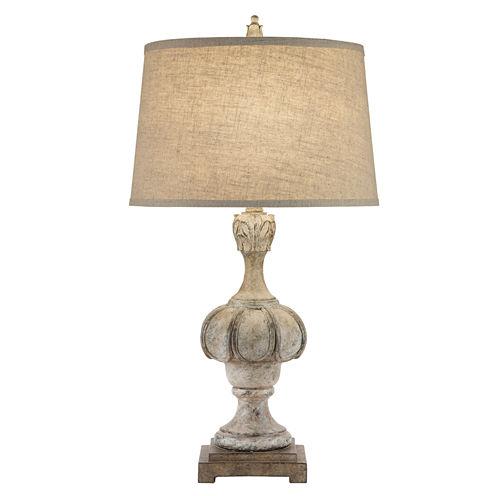 Catalina Raven Resin Table Lamp