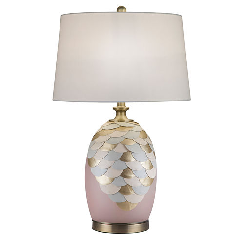 Catalina Vivianne Glass Table Lamp