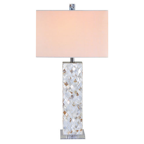 Catalina Pacifica Crystal Table Lamp