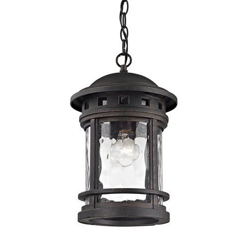 Elk Lighting Costa Mesa 1-light Outdoor Pendant Light