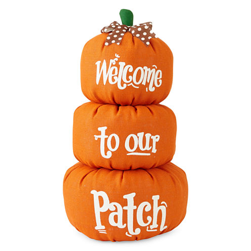 JCPenney Home™ Welcome to our Patch Pumpkin Sign