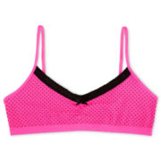 Maidenform Pink Dot Crop Bra - Girls 7-16