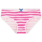 Maidenform Pink Striped Hipster Panties - Girls 4-16