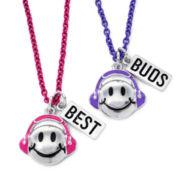 Total Girl® 2-pc. BFF Happy Face Necklaces